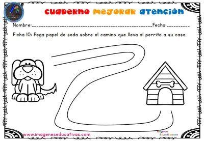 Cuadernillo Fichas Para Trabajar La Preescritura Y La Atención Nivel Inicial 2 3 Años Actividades Para Niños De 3 Años Fichas Actividades Del Alfabeto En Preescolar
