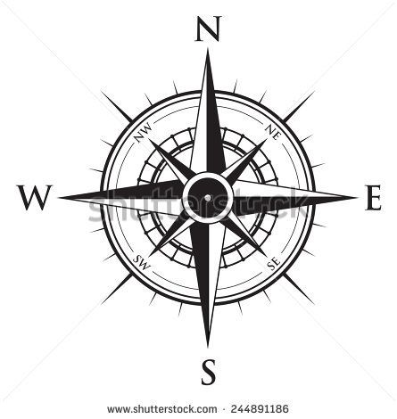 Compass Background Buy This Vector On Shutterstock Find Other Images Compass Tattoo Design Compass Rose Tattoo Compass Tattoo