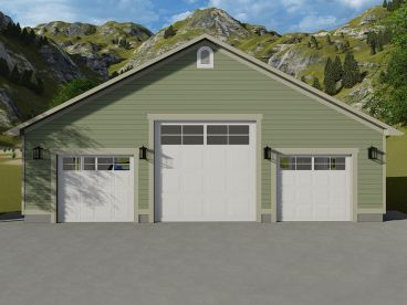 Tandem Garage Plan 065g 0005 Rv Garage Plans Garage Plans Building A Garage