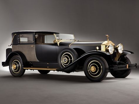 1929 Rolls-Royce Phantom. What the grimm reaper would drive.