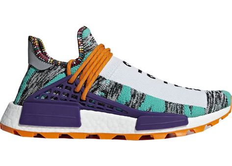 546fd40b69a3f Check out the adidas NMD Hu Pharrell Solar Pack Orange available on StockX