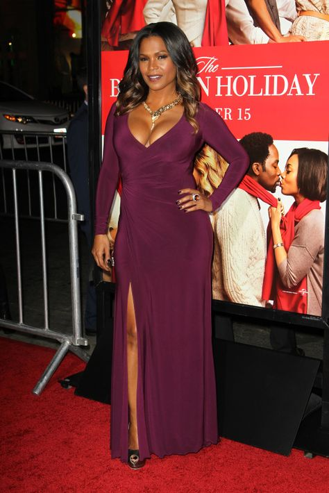 """Nia Long At """"The Best Man Holiday"""" Los Angeles Premiere."""