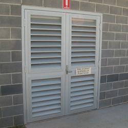External Louver Door Exterior