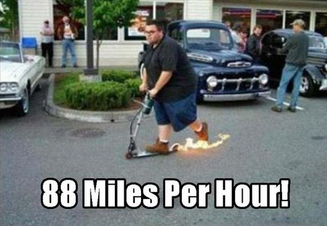 88 Miles Per Hour Funny Wtf Meme Image