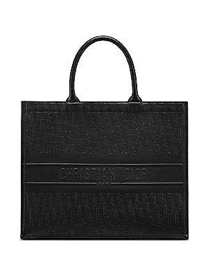 Dior Oblique Embossed Leather Dior Book Tote Www Italianist Com Christian Dior Bags Book Tote Bag Black Handbag Tote