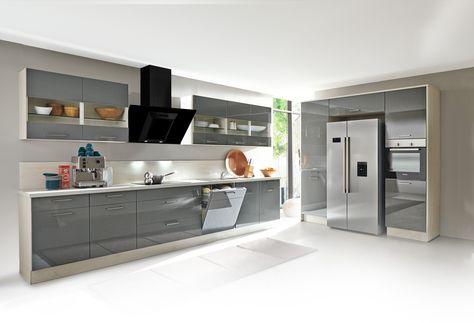 102 besten Küche Bilder auf Pinterest Traumhaus, Weiss und Begehbar - küche mit dachschräge planen