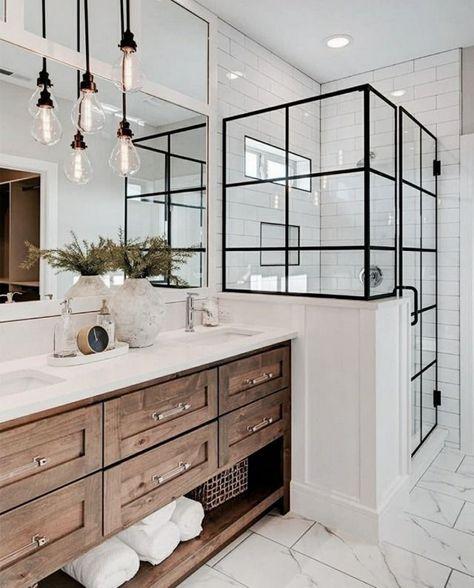 Bathroom Inspiration // Boost Your Home -   - #Bathroom #boost #diybathroomideas...#bathroom #boost #diybathroomideas #home #inspiration