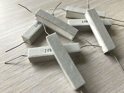 Ad Ebay Url Us Stock 10pc 10w 3 3k W Ohm 3k3j Cement Resistors 5 Ciment Resistance Fixed Resistors Ohms Cement