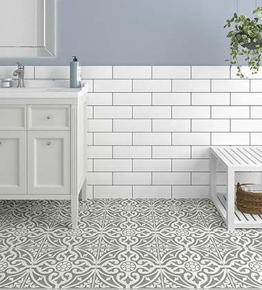 Wall Tiles Wall Tiling For Kitchens And Bathrooms Tiles Uk In 2020 Patterned Bathroom Tiles Flooring Patterned Floor Tiles