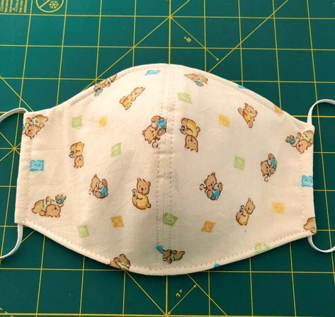 3d Face Mask Sewing Pattern Pdf Sewing Pattern Instant Pdf