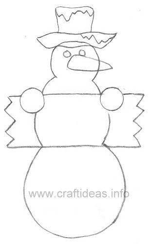 Snowman Template - Bing images u2026 Pinteresu2026 - snowman template