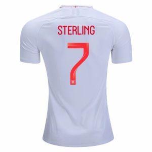 9049c595e 2018 World Cup Jersey England Home Sterling Replica White Shirt  CFC81