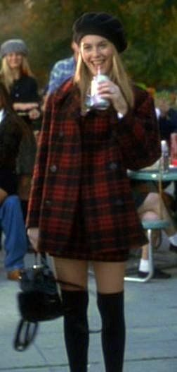 Cher Horowitz, fashion icon in Junior High. My mom dressed me exactly like Cher growing up. No wonder girls hated me. Lol