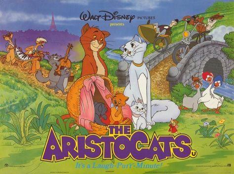 Aristocats 11x14 Movie Poster (1980)