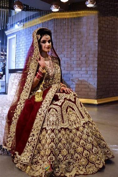 Pretty Maroon Velvet With American Diamond Wedding Bridal Lehenga Choli In Usa Bridal Boutique Designer Bridal Lehenga Choli Bridal Lehenga Indian Wedding Wear