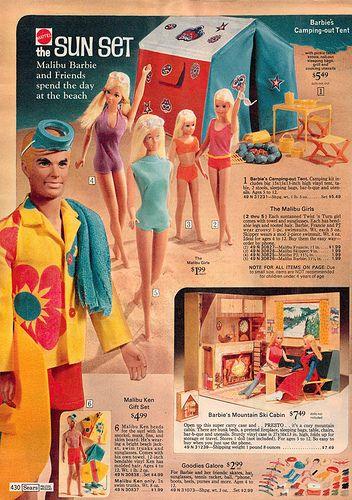BARBIE original vintage european ad  print advertisement SHIPPING FREE