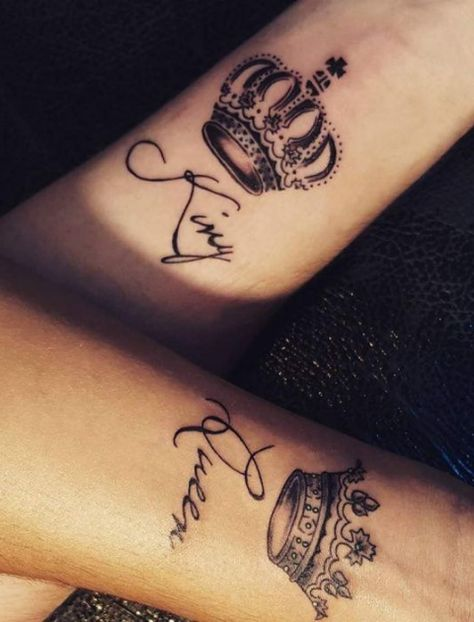 10 Unique Couple Tattoos For All The Lovers Out There! |