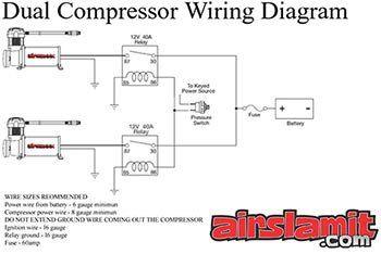 Air Suspension Wiring Diagram Diagram Wire Installation Air Ride