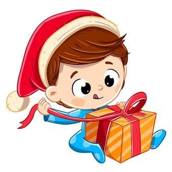 User592403 Freepik Gorro De Papa Noel Navidad Animado Regalos De Navidad