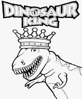 Print Dinosaur King Cards Printable Dinosaur Coloring Page