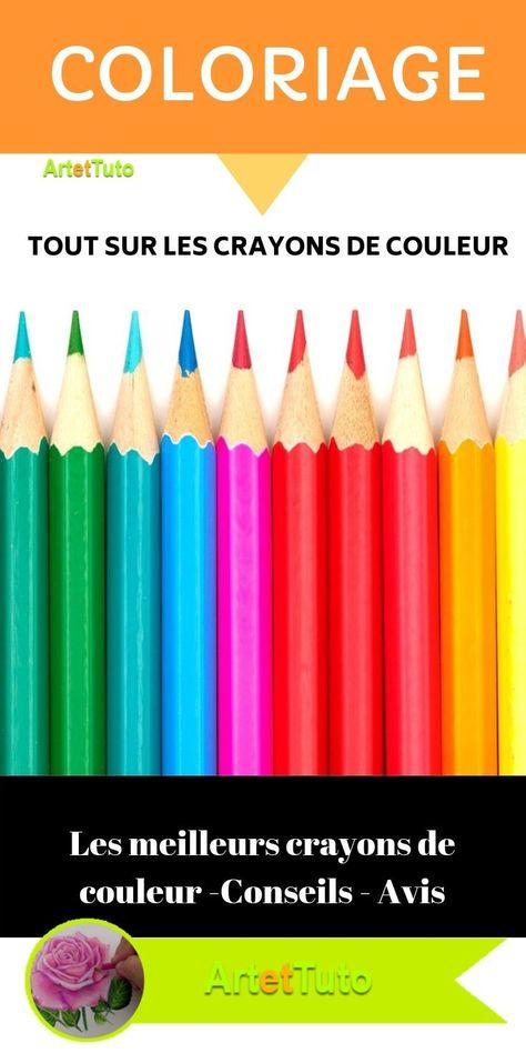 Meilleur Crayon De Couleur Pour Coloriage Adulte : meilleur, crayon, couleur, coloriage, adulte, Meilleurs, Crayons, Couleur., Avis,, Conseils, Formation, Techniques, Couleur,, Crayon, Couleur, Aquarellable