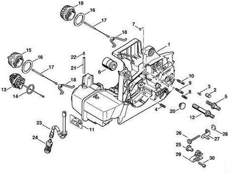 Stihl 034 Av Super Parts Diagram Stihl 024 Av Super Parts Diagram