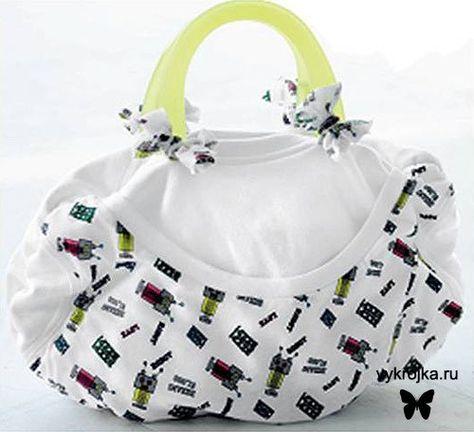 выкройки сумок  purse patterns
