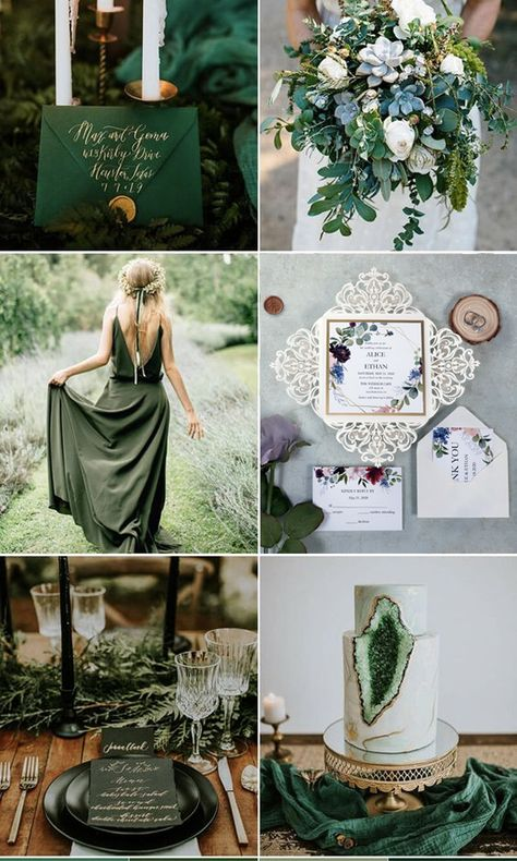 Geometric Burgundy And Dusty Blue Floral Laser Cut Wedding Invitations PWIL123