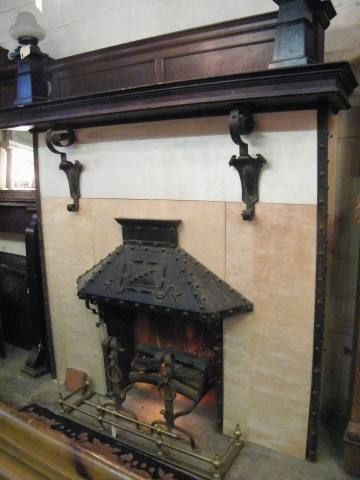 Fireplace mantel and Mant…