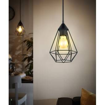 Taplin 3 Light Kitchen Island Geometric Pendant In 2020 Geometric Pendant Bedroom Pendant Light