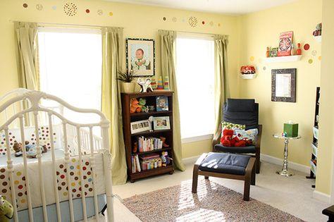 Inspiratie voor groene babykamer
