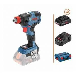 Impact Wrench Wrench 18v 2 Beats 4ah Fast Charger Box Bosch Impact Wrench Bosch Charger
