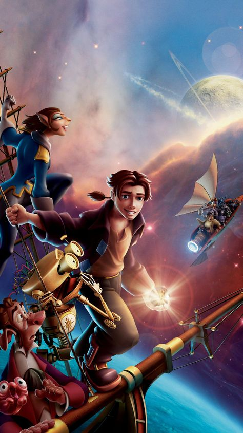 Treasure Planet (2002) Phone Wallpaper | Moviemania