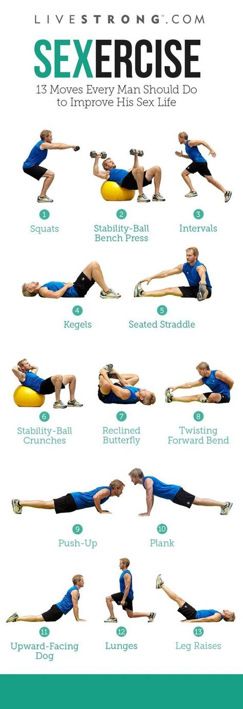 Sexercise workouts for couples