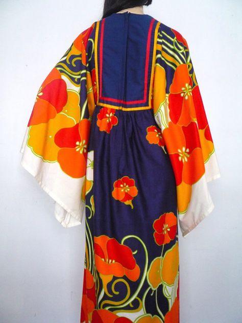 I Magnin dress 1970s