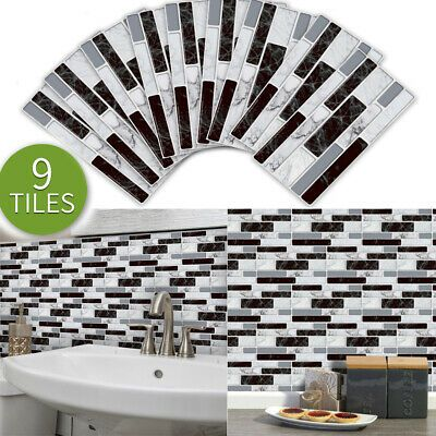Imitation Marble Ceramic Tile Stickers Wallpaper Self Adhesive Pvc Wall Sticker Fashion Home Garden Wall Stickers Wallpaper Pvc Wall 3d Mirror Wall Stickers