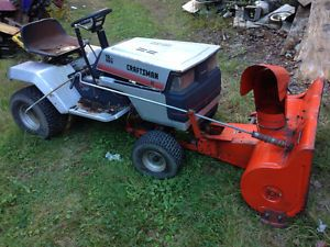 Ford Garden Tractor Snow Blower Ford Lgt 125 Garden Tractor Snow Blower Posot Class Small Tractors Garden Tractor Tractors