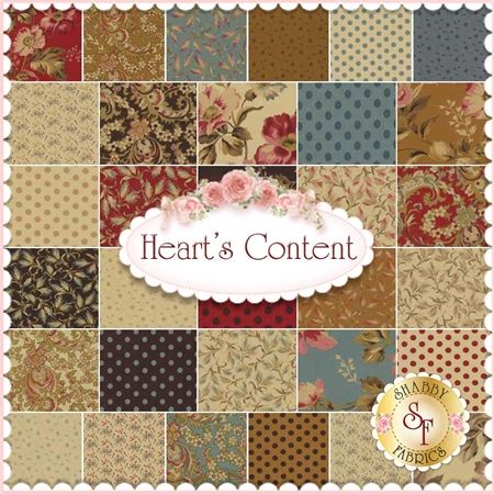 Heart's Content By Laundry Basket Quilts For Moda Fabrics ... : quilt fabric shops - Adamdwight.com