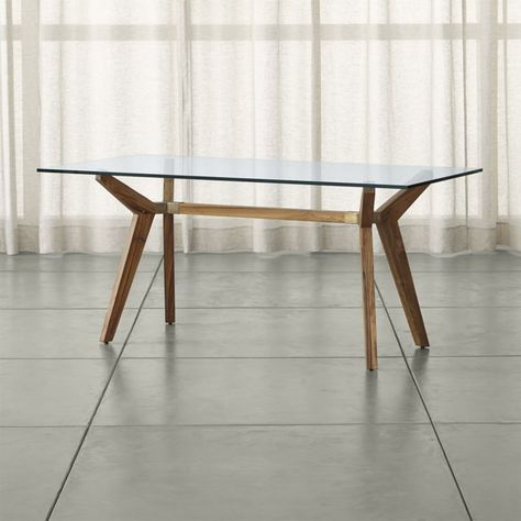 Strut Teak Table Reviews Crate And Barrel Teak Table Home