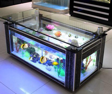 Fashion Living Room Decor Large Aquarium Acrylic Fish Tank For Sale Fish Tank Home Decor Aquarium Living Room Decor Aquarium Room Living room table fish tank