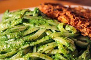 Tallarines Verdes Con Bistec Receta Fácil 3 Tips Receta Recetas De Tallarines Comida Peruana Tallarines