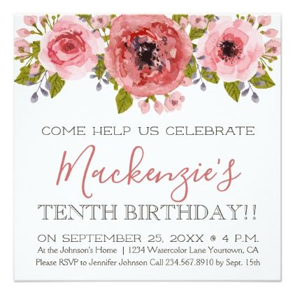 Birthday Party Invitation Zazzle