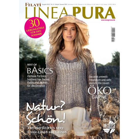 Filati Magazin  Ausgabe 57 Frühjahr//Sommer 2019 Lana Grossa