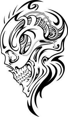 skull tattoo, Skull Tattoo Ideas