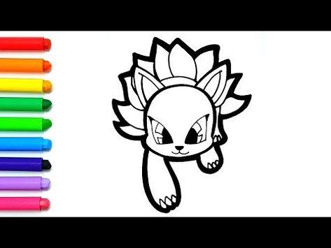 신비아파트 구미호그리기 색칠공부 귀여운 캐릭터 쉽게 그리기