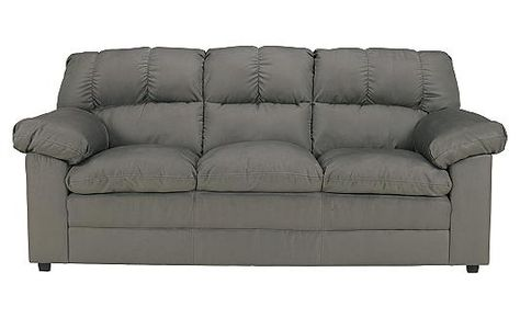 The Eli Reclining Sofa with Drop Down Table from Ashley Furniture