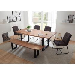 Essgruppen Tischgruppen Esszimmer Set Sitzbank Mit Lehne