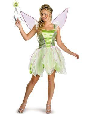 Asu Halloween Party 2020 Deluxe Helinä keiju asu aikuisille. Express toimitus | Funidelia