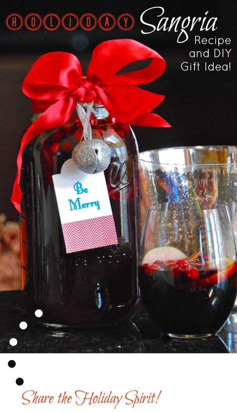 Holiday Sangria Recipe and Gift Idea