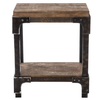 Rustic Wood Accent Table Hobby Lobby 1719913 Wood Accent Table Accent Table Metal Accent Table